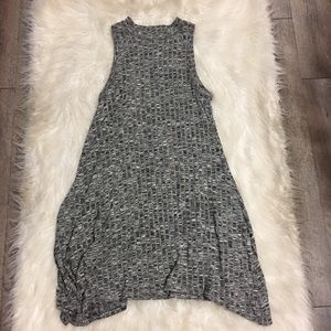 Anthropologie Grey Emerson Swing Dress Small